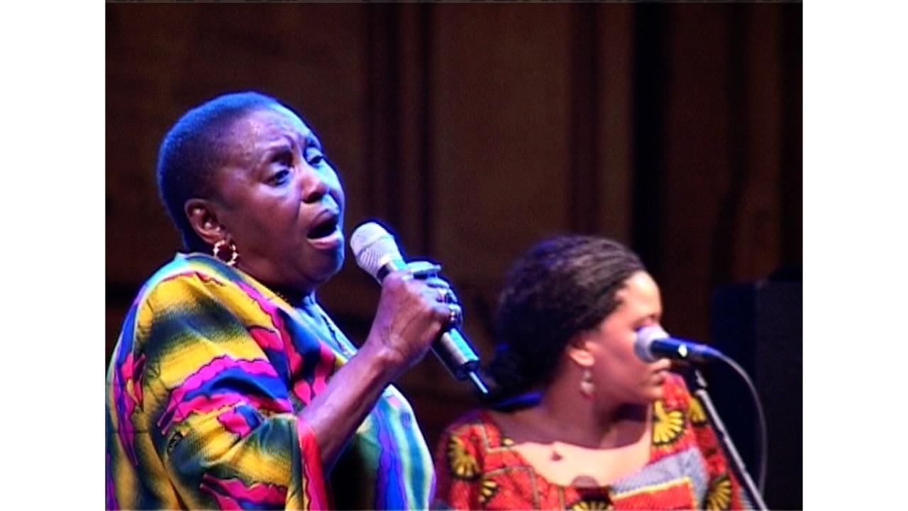 Miriam Makeba – concerto e intervista