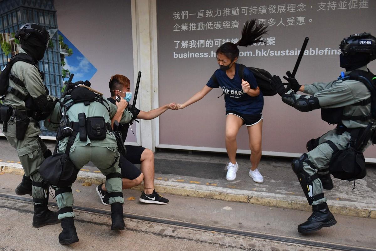 hong kong giovani donne