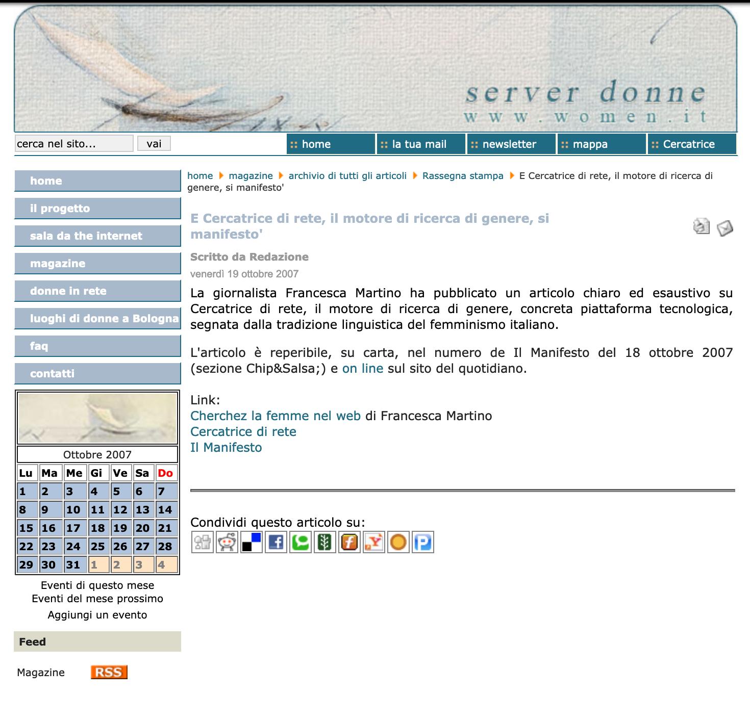 Magazine ServerDonne